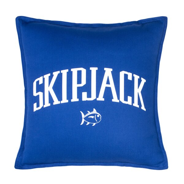 Americana Chino Skipjack 100% Cotton Throw Pillow by Southern Tide